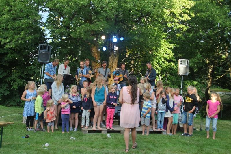 Konsert på Kalvild Gård